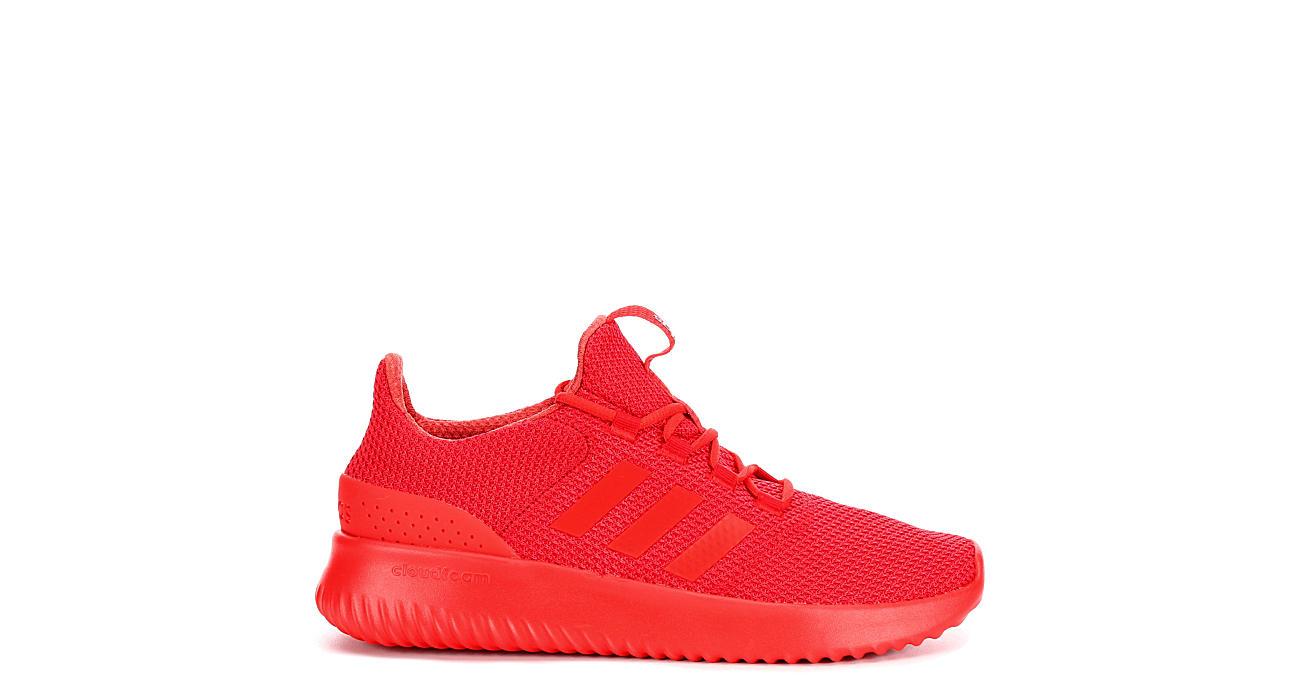 adidas mens cloudfoam red