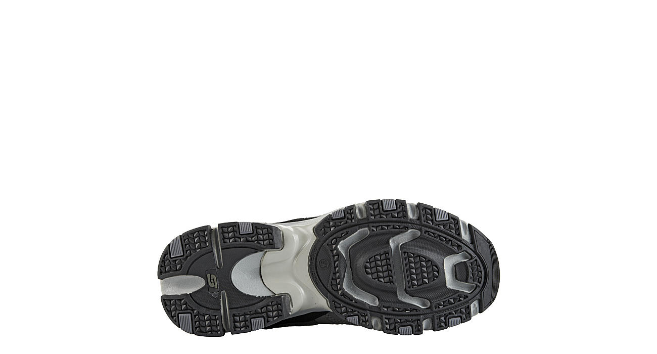SKECHERS Mens Vigor 2.0 Trait Walking Shoe - DARK GREY