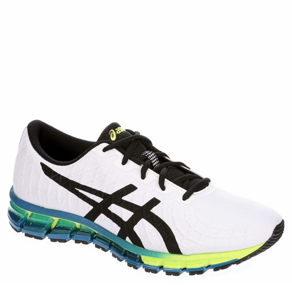 mens white asics shoes