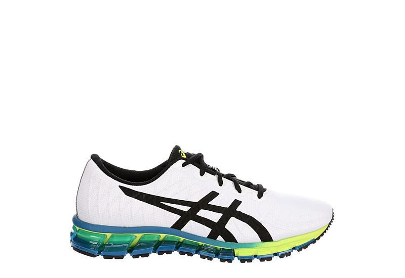 ASICS Mens Gel Quantum 180 4  Running Shoe - WHITE