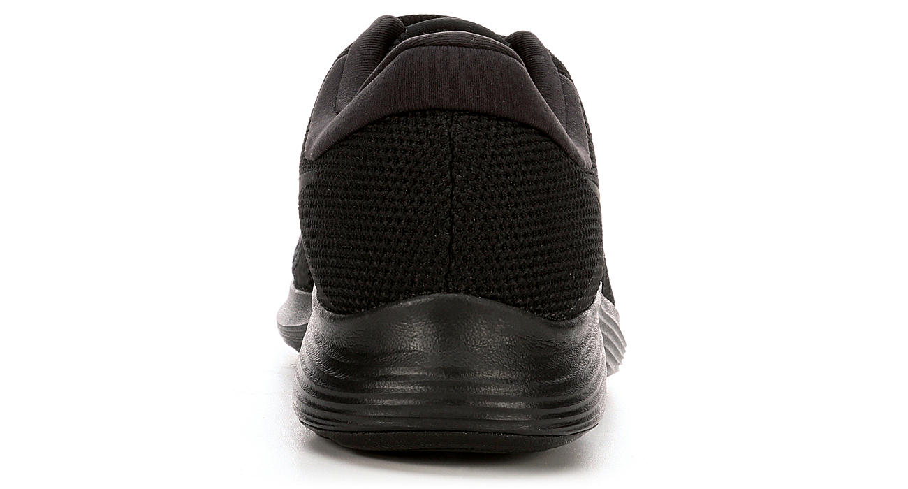439f93de9692f All Black Nike Revolution 4 Men s Running Shoes