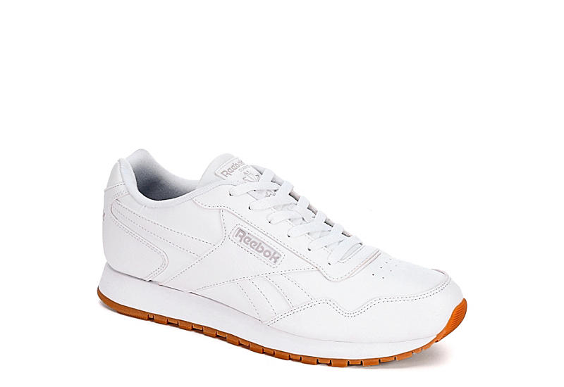 paquete agudo formación  All White Reebok Classic Harman Men's Sneakers | Rack Room Shoes