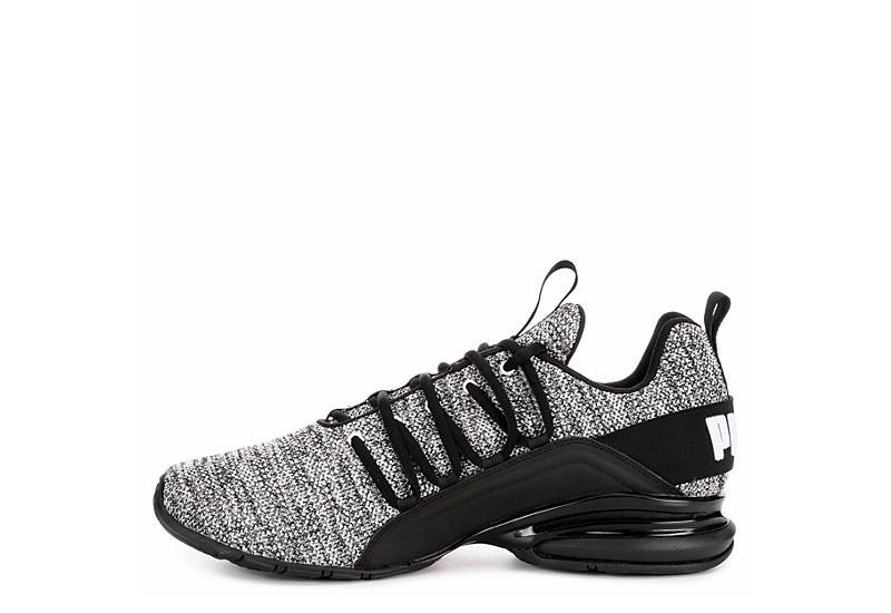 PUMA Mens Axelion Sneaker - WHITE