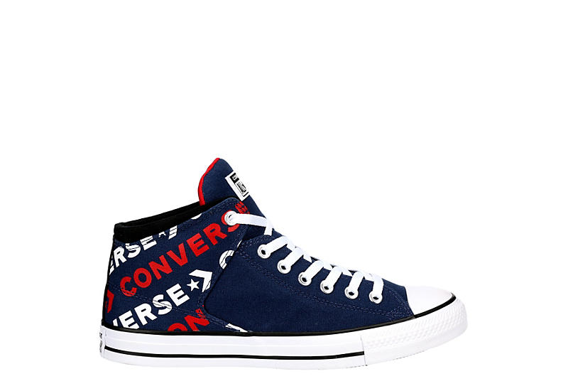 CONVERSE Mens Chuck Taylor All Star High Street High - NAVY