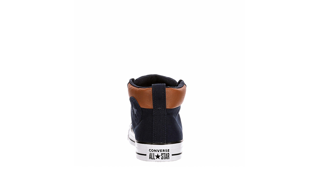 CONVERSE Mens Street Mid Space Explorer Sneaker - NAVY