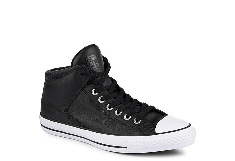 3bcfe2f4615d Black Converse Mens Chuck Taylor All Star High Street Mid