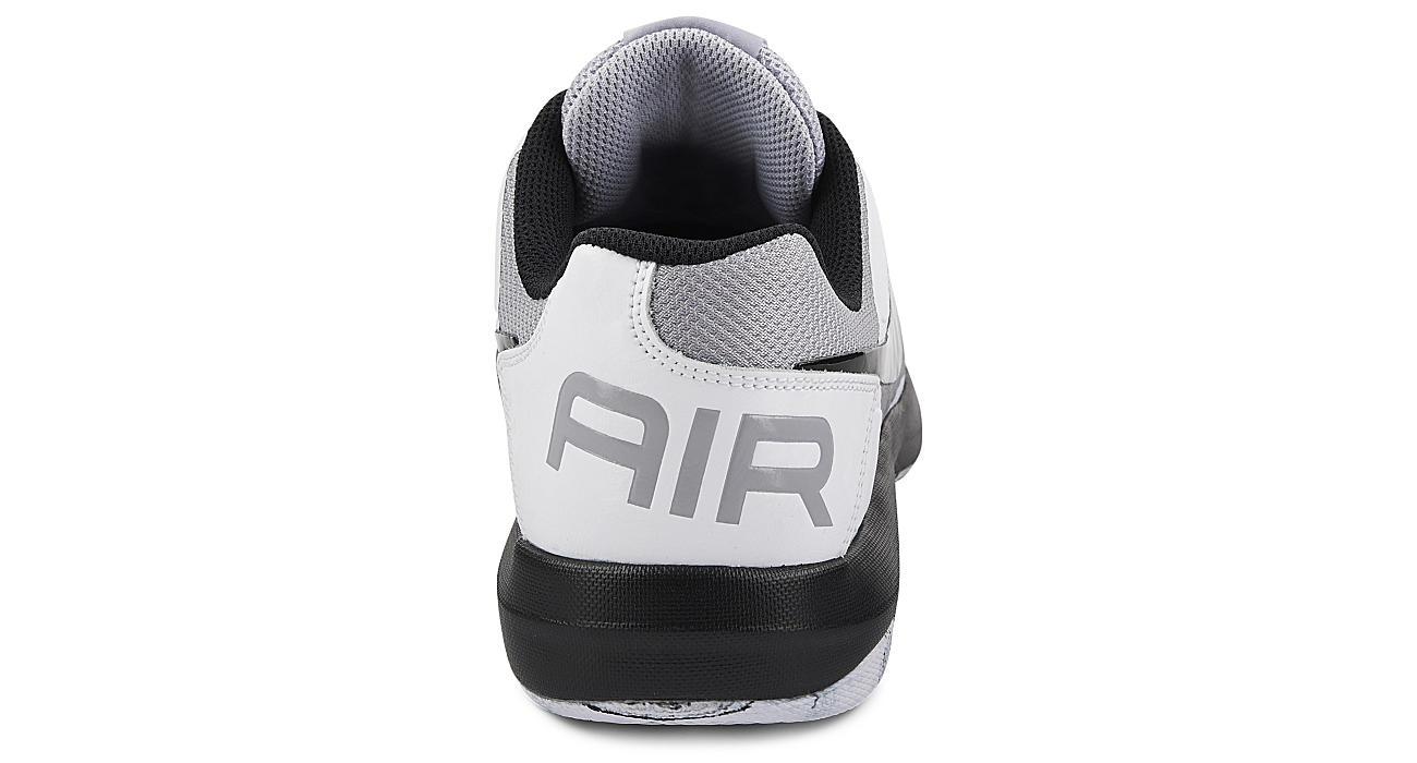 NIKE Mens Air Mavin Low Top Basketball Shoe - GREY