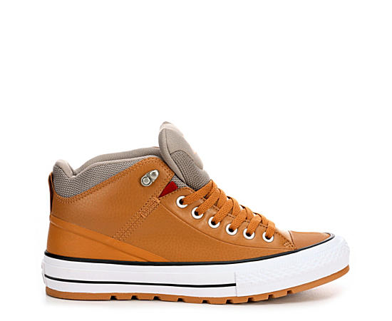 Mens Chuck Taylor All Star Street Hi Leather Boot