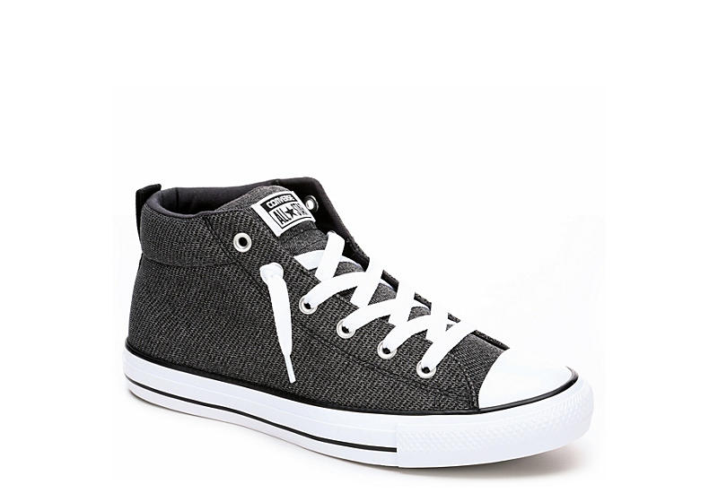 Converse Mens Chuck Taylor All Star Street Mid Knit - Grey 576e7e6d5