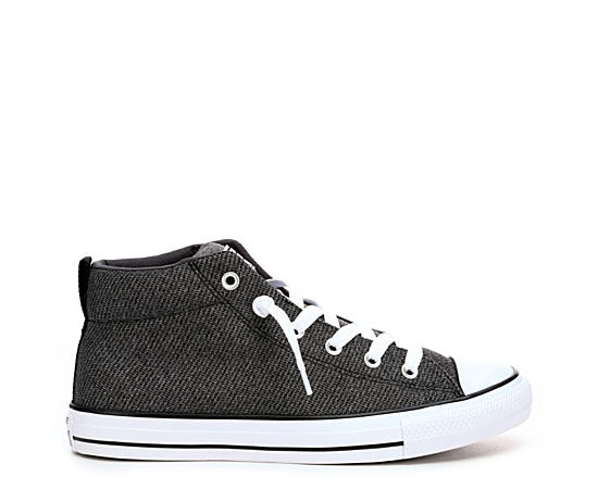 Mens Chuck Taylor All Star Street Mid Knit