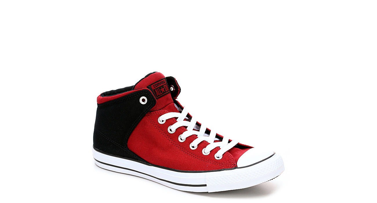 CONVERSE Mens Chuck Taylor All Star High Street Mid Sneaker - RED