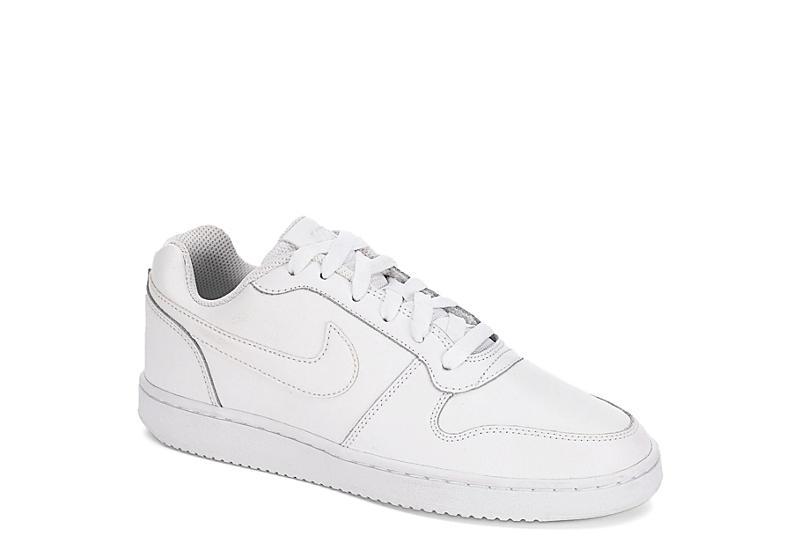 White Nike Mens Ebernon Low Athletic Rack Room Shoes