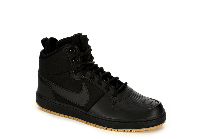 a1de1196db7f Nike Mens Ebernon Mid Winter - Black