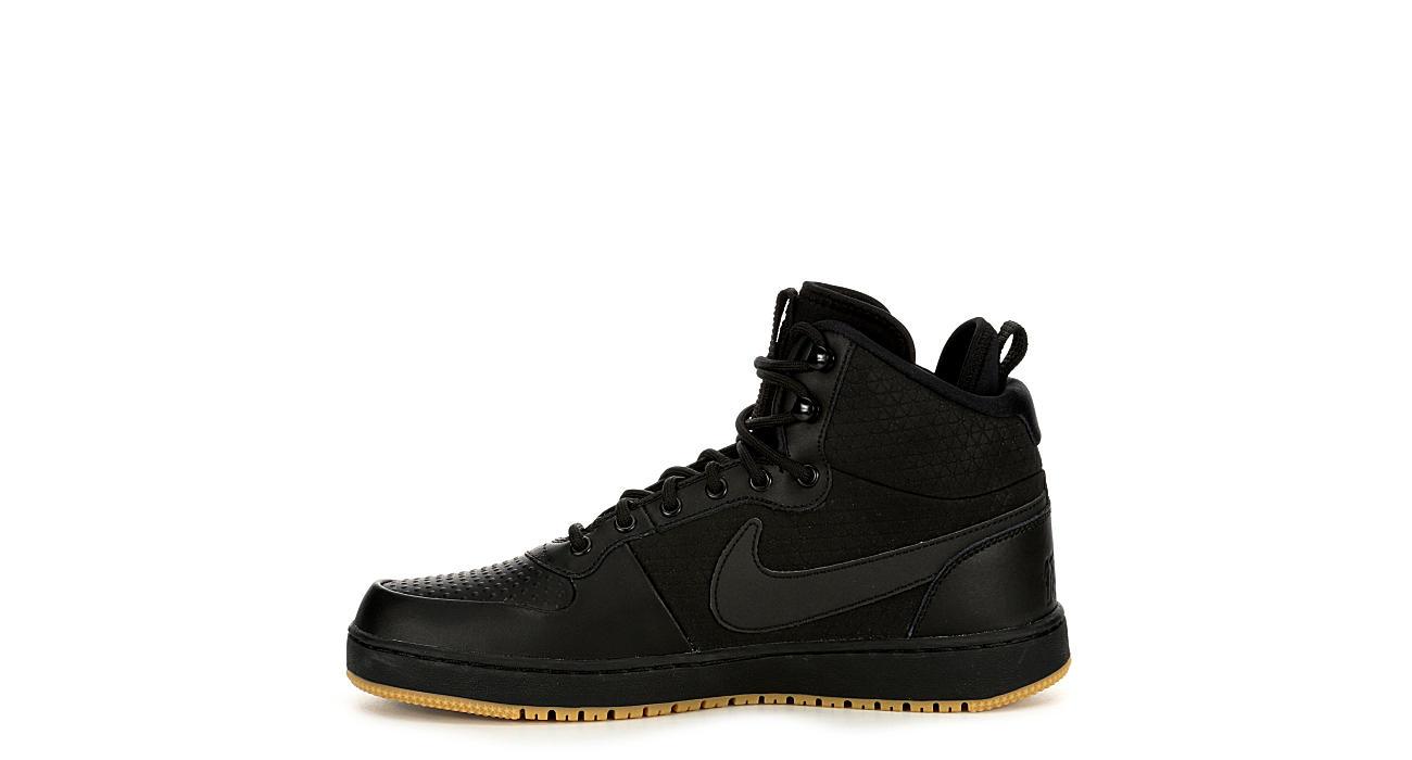 Black Nike Mens Ebernon Mid Winter   Mens   Rack Room Shoes 3690f9467b
