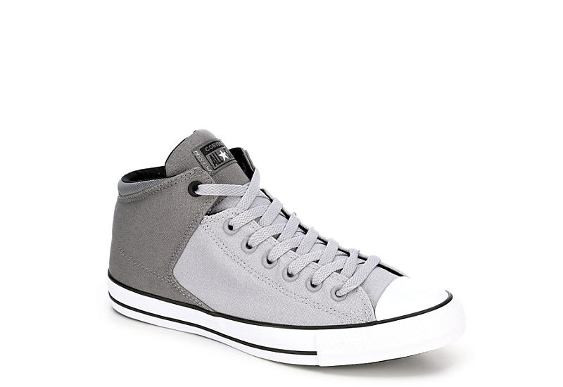 CONVERSE Mens Chuck Taylor All Star High Street High - GREY