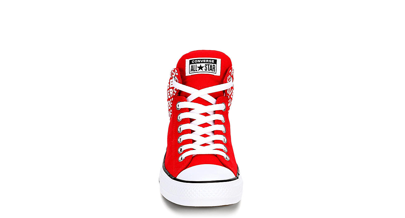 CONVERSE Mens Chuck Taylor All Star High Street High - RED