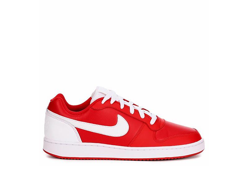 NIKE Mens Ebernon Sneaker - RED