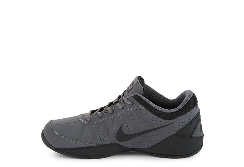 NIKE Mens Ring Leader Low Top Basketball Shoe - DARK GREY
