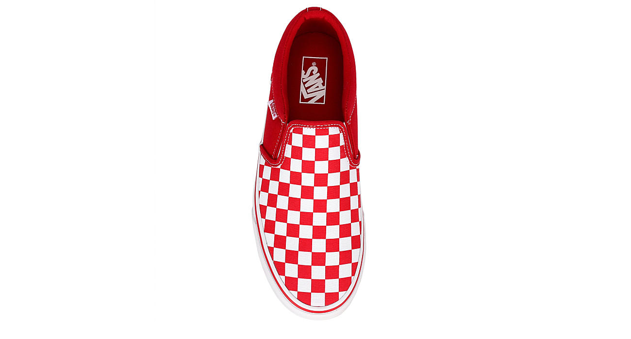 VANS Mens Vans Asher Sneaker - RED