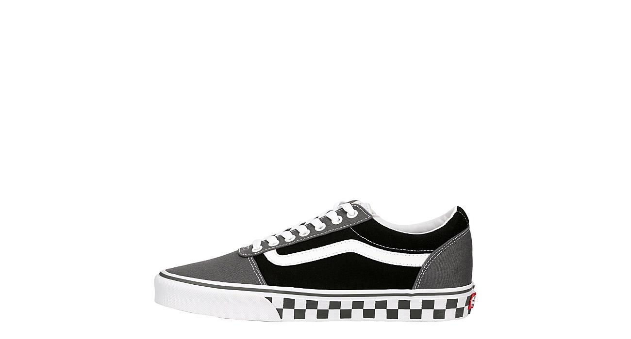 VANS Mens Vans Ward Sneaker - BLACK