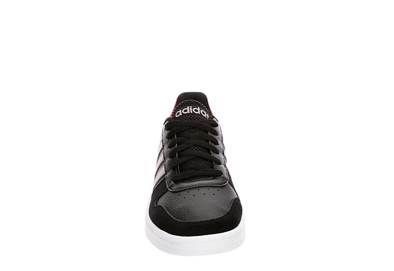 ADIDAS Mens Hoops 2.0 Low - BLACK