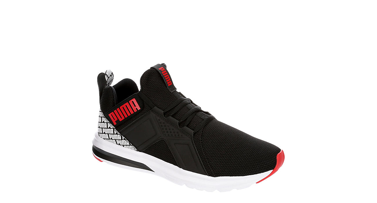 PUMA Mens Enzo Repeat Sneaker - BLACK