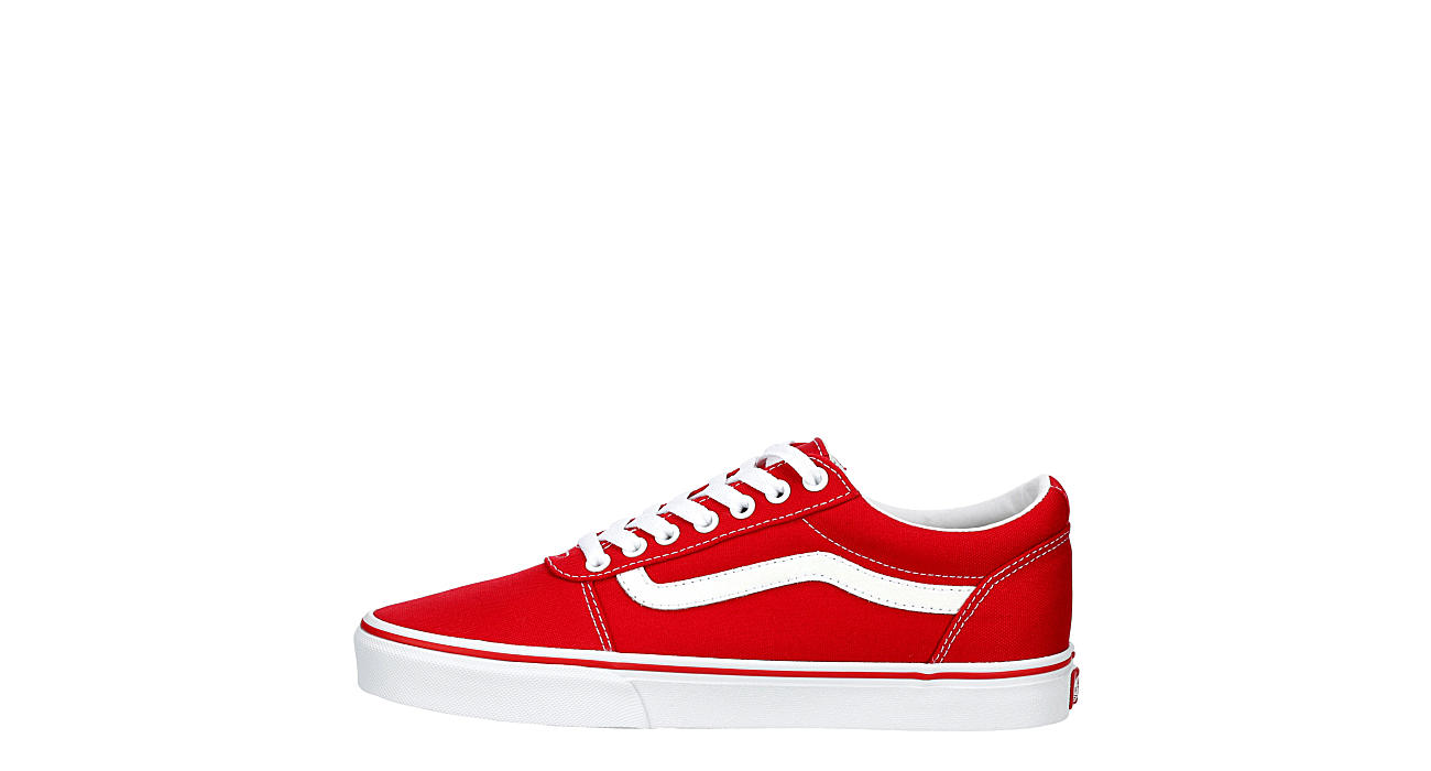 VANS Mens Vans Ward Sneaker - RED
