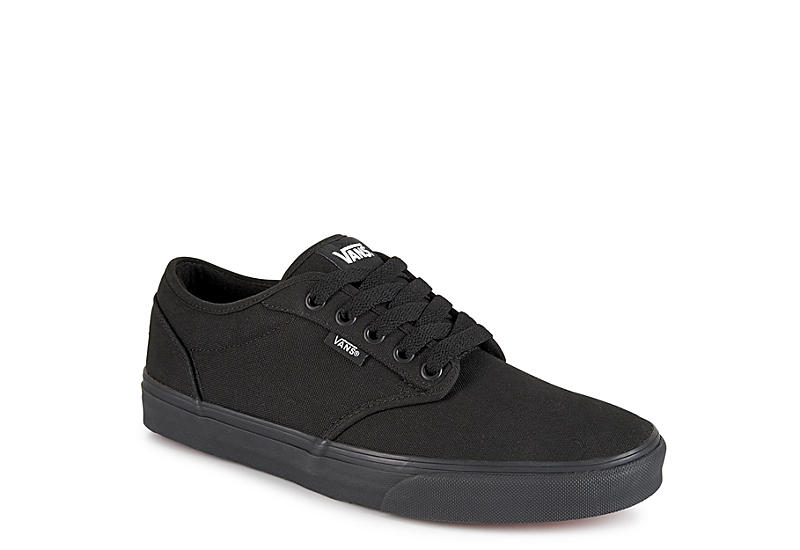 20be3501d0 Vans Atwood Men s Low Skate Shoe ( All Black)