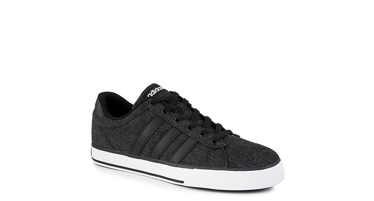178a0c69792c Black Adidas Mens Se Daily Vulc