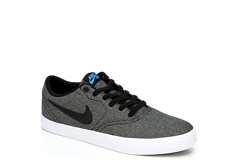 factory authentic new lower prices official BLACK NIKE Mens Sb Check Solar Solarsoft Canvas