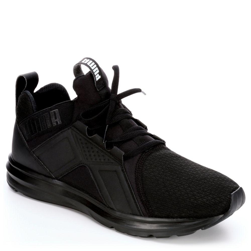black puma casual shoes