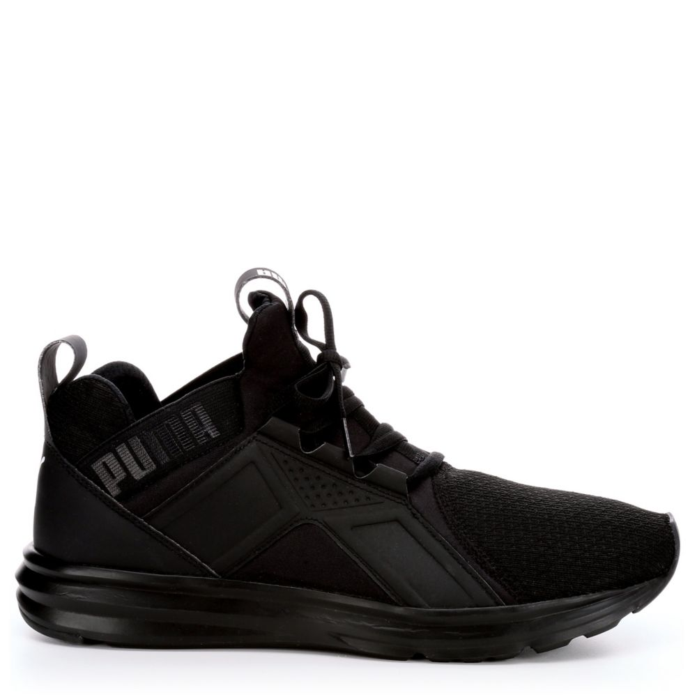 puma shoes for men black and white