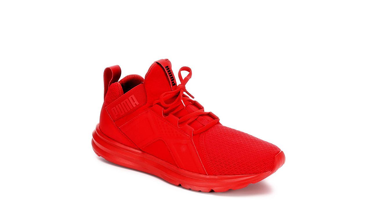 e00a42b52bc4 authentic all red pumas 4b4c4 e5f11  hot puma mens enzo red 21e54 9ff1c