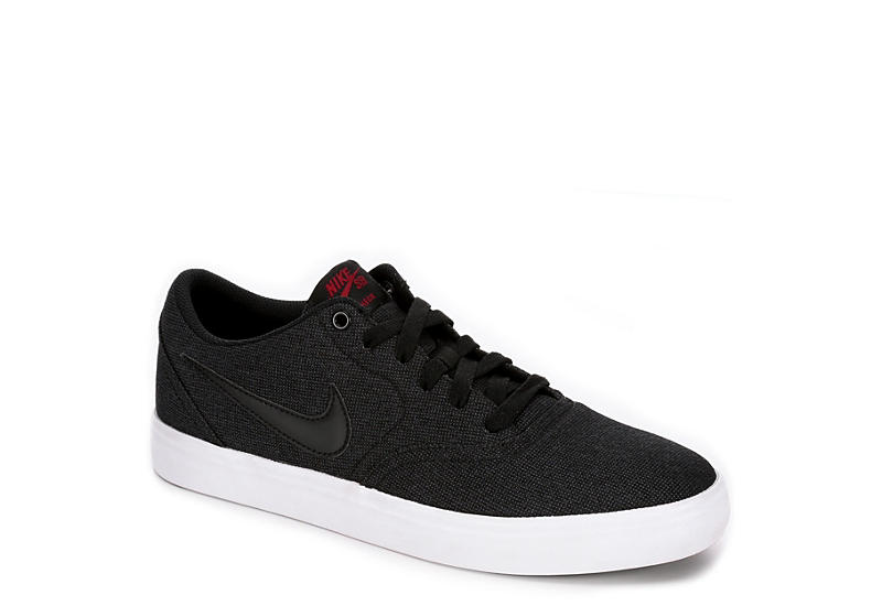 finest selection 5e04f d3791 Nike Mens Sb Check Solar Canvas - Black
