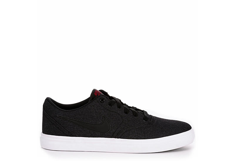 finest selection fe567 ef912 Nike Mens Sb Check Solar Canvas - Black