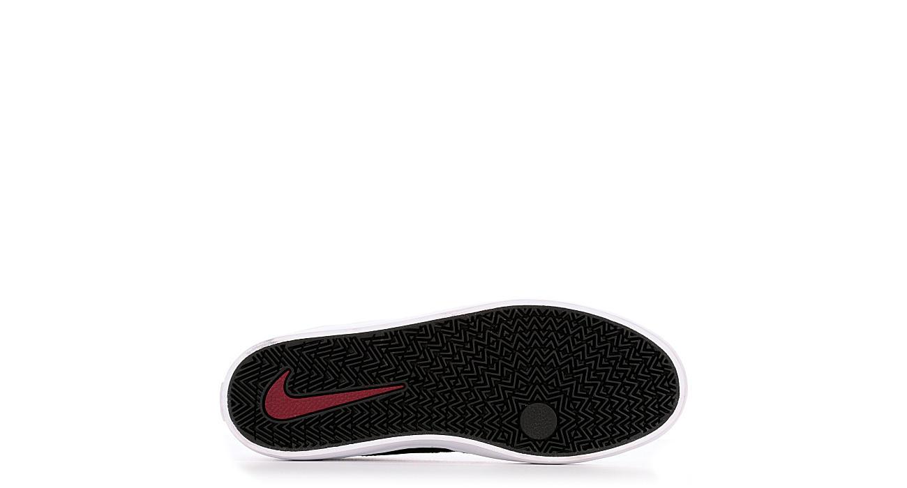NIKE Mens Sb Check Solar Sneaker - BLACK