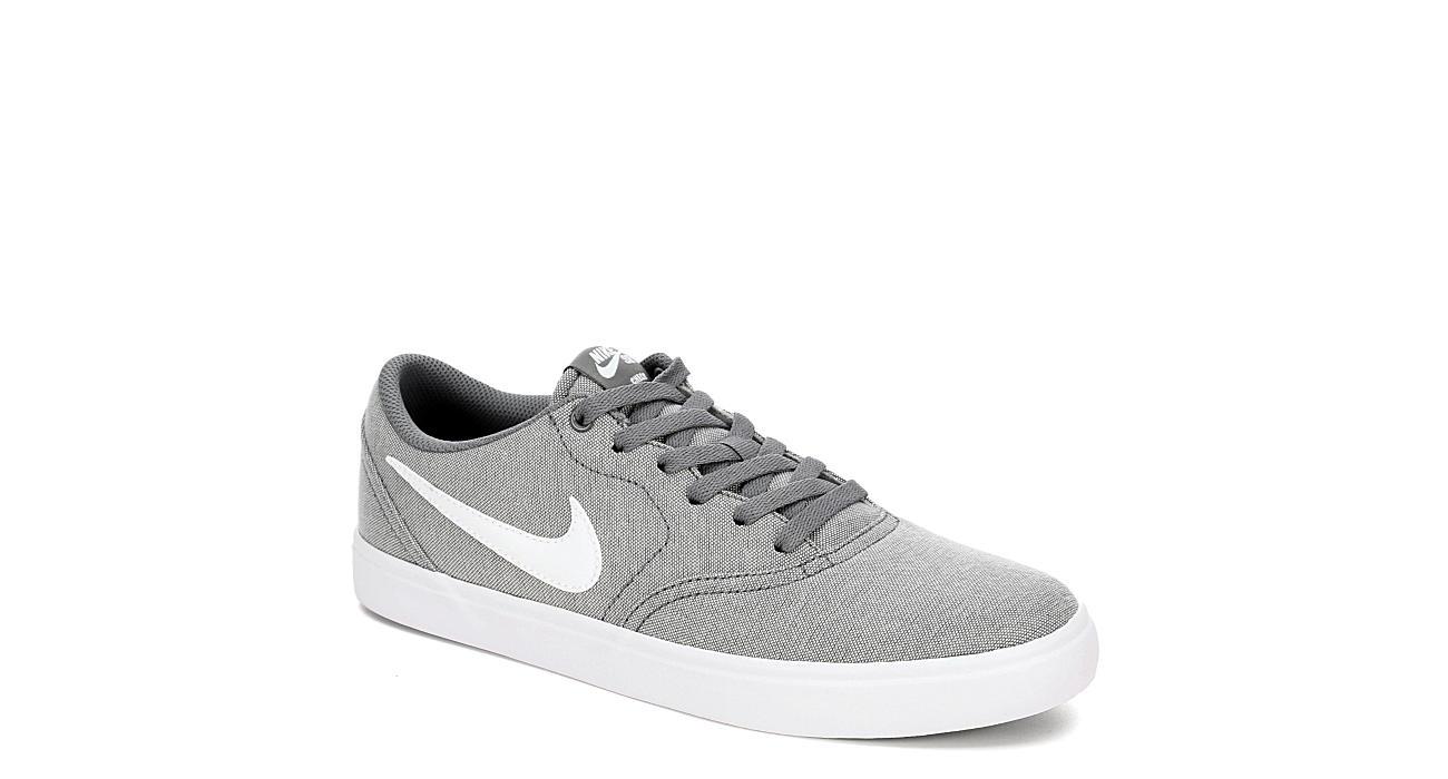 meet 51fa2 262de Grey Nike Mens Sb Check Solarsoft Canvas | Athletic | Rack Room Shoes
