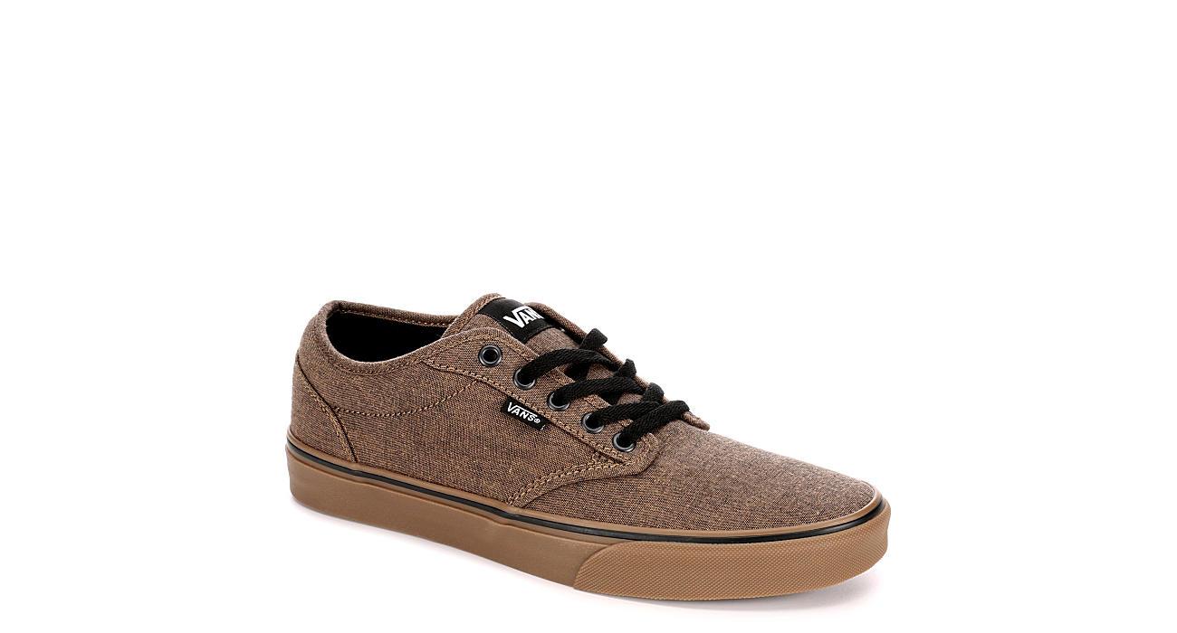 02daf8029a Brown Vans Atwood Men s Canvas Skate Shoes