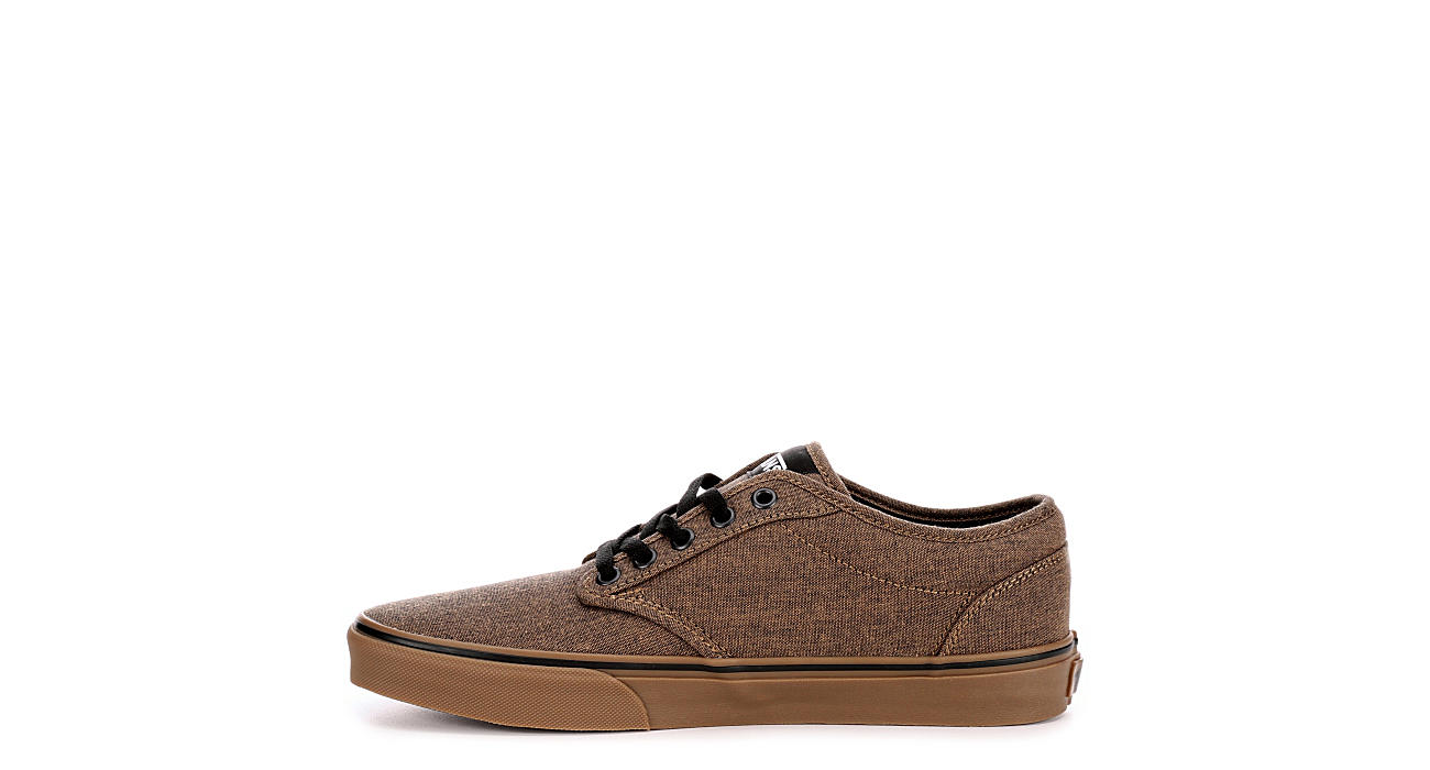 1e316a330c Brown Vans Atwood Men s Canvas Skate Shoes