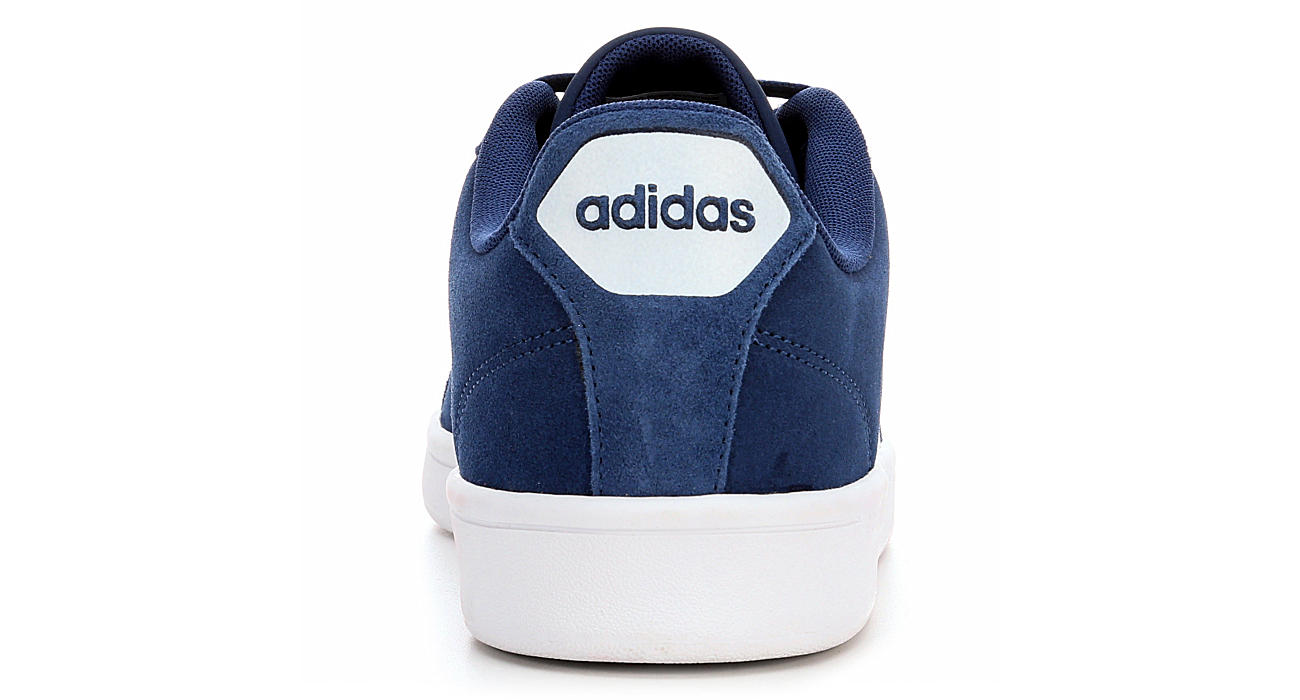 adidas men's neo cloudfoam advantage stripe sneaker