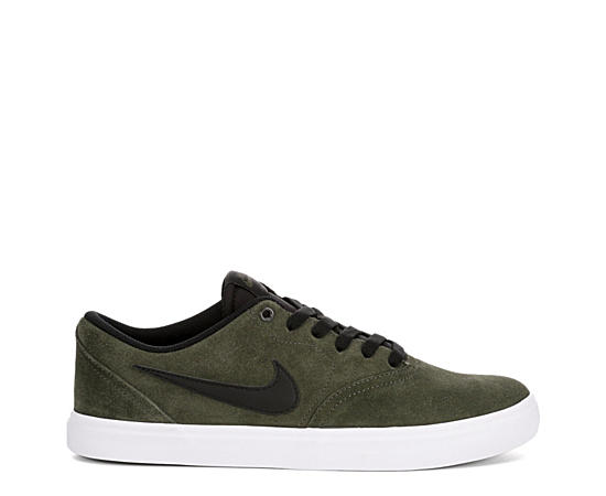 Mens Sb Check Solar Suede