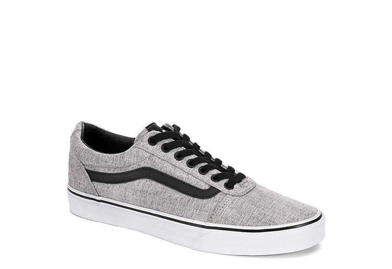 d695bb68159e Grey Vans Ward Men s Low Top Sneakers
