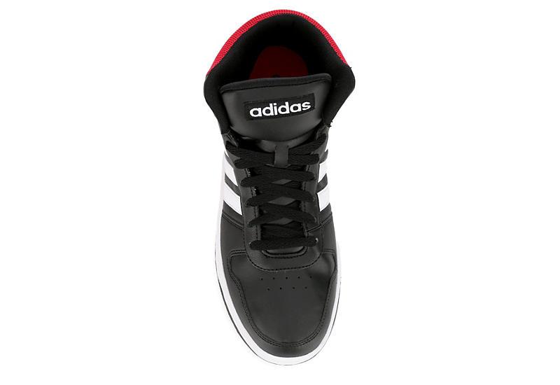 ADIDAS Mens Hoops Mid 2.0 - BLACK