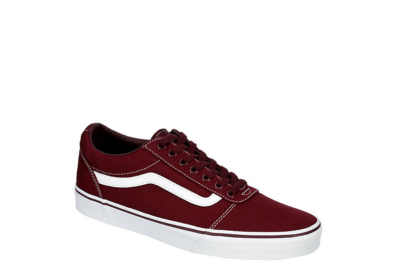 c3705723e80f7c Burgundy Vans Ward Men s Low Top Sneakers