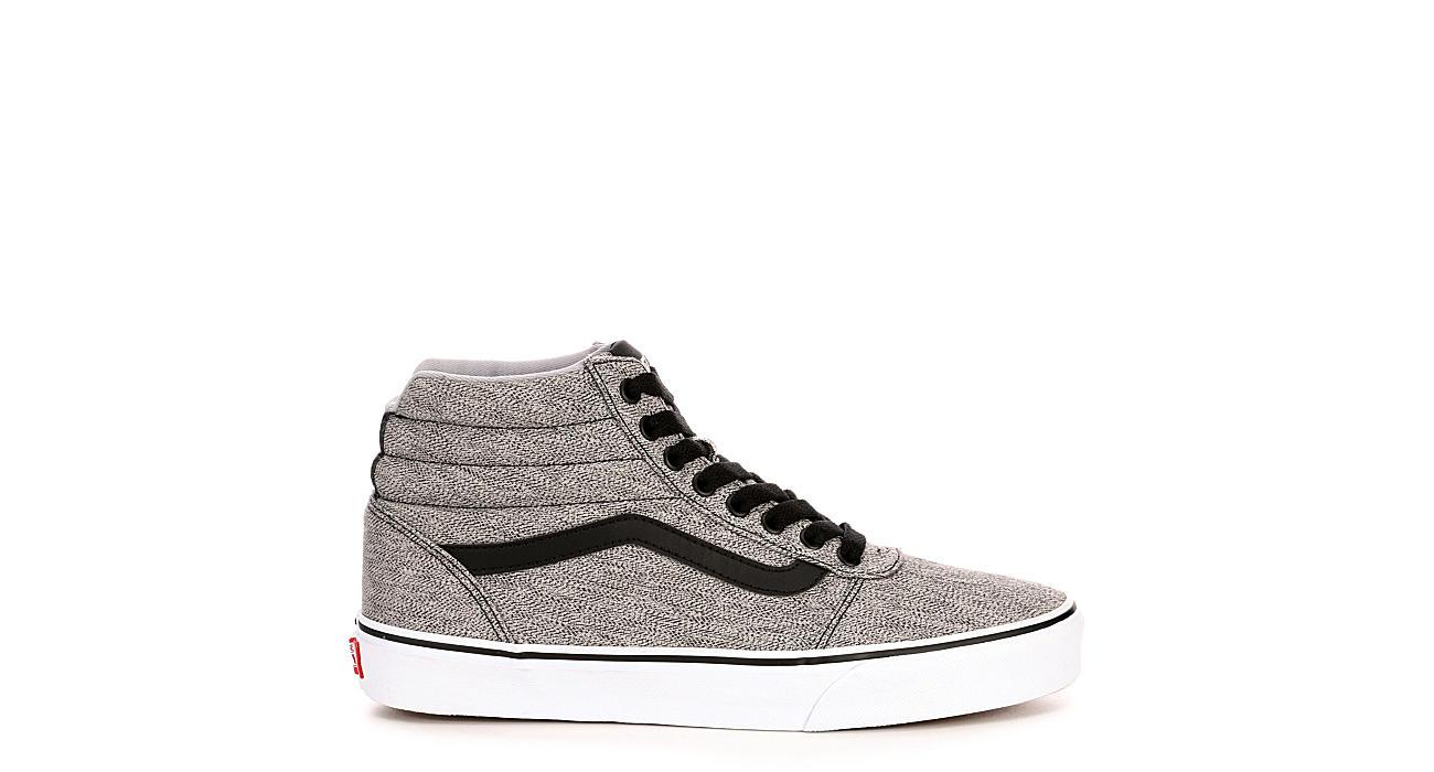 ebf0a950a785f2 Black   Grey Vans Ward Men s High Top Sneakers