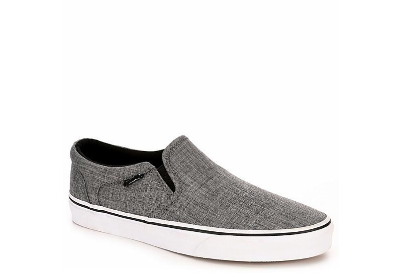 6566a3a592f Vans Mens Asher Slip-on - Grey