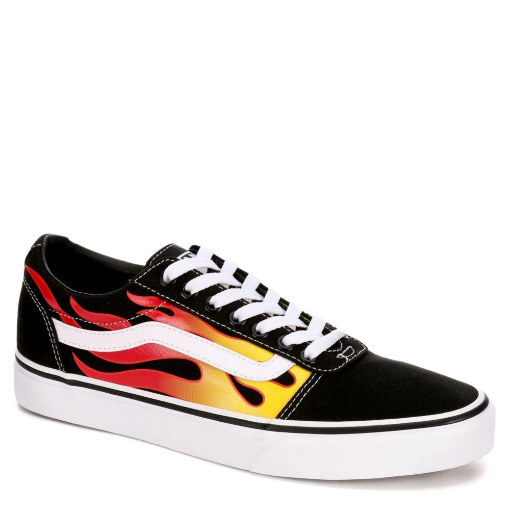 vans with flames