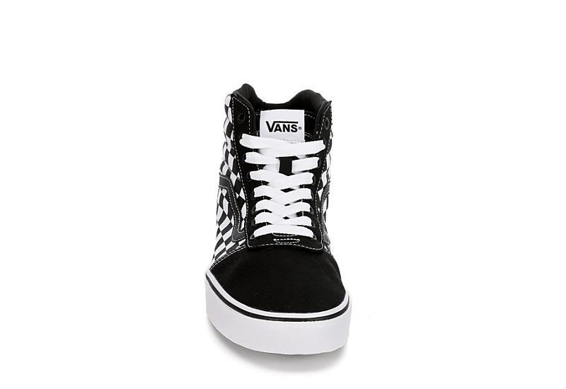 VANS Mens Vans Ward Hi - BLACK