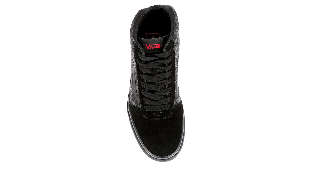 VANS Mens Vans Ward Hi - BLACK