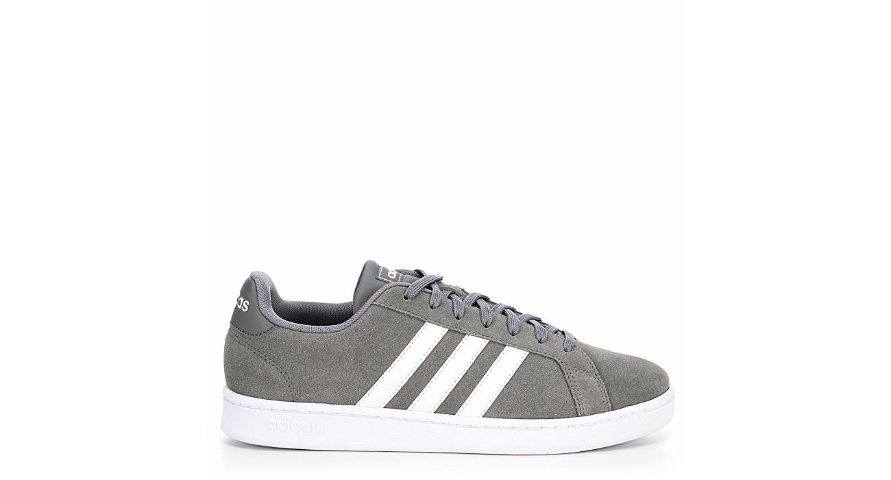 8eb9793d11ad3 Adidas Mens Grand Court - Grey